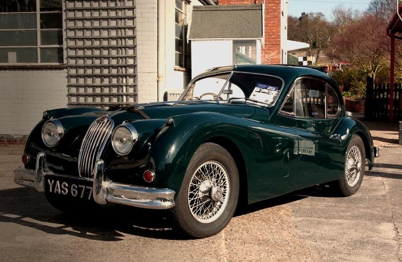 55 Jaguar XK140
