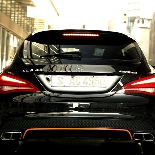 Mercedes-Benz CLA 45 AMG Shooting Brake (Instagram @amgspots)